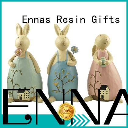 Ennas easter bunny figurines top brand for holiday gift