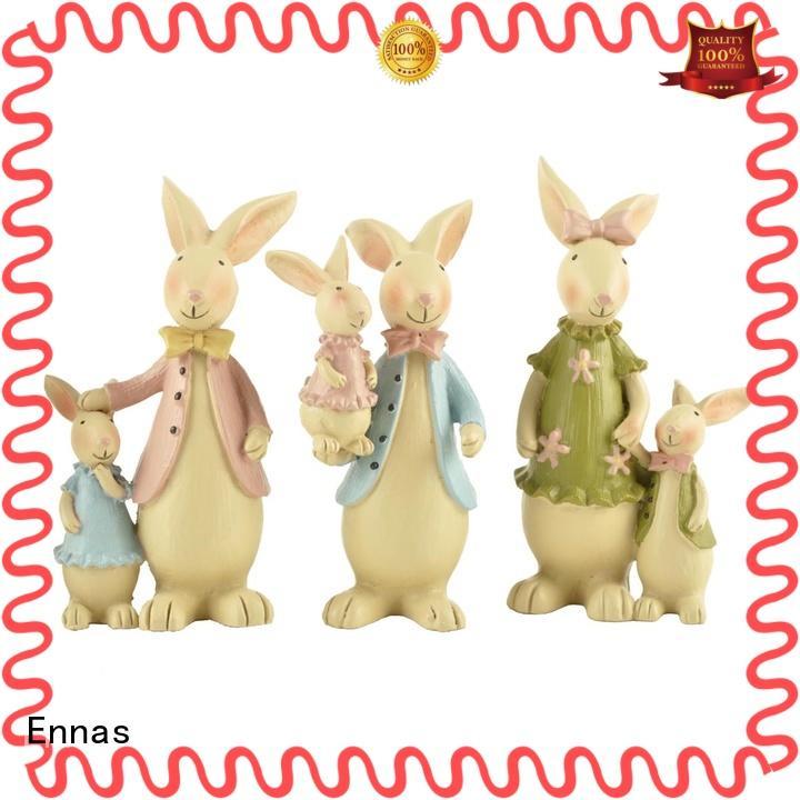 Ennas easter rabbit decor handmade crafts micro landscape
