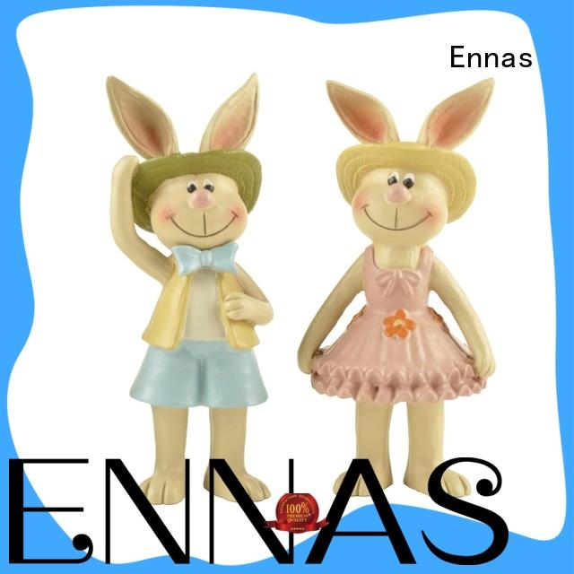 Ennas easter bunny decorations oem micro landscape
