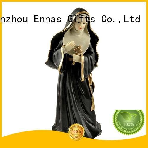 Ennas catholic nativity set bulk production craft decoration