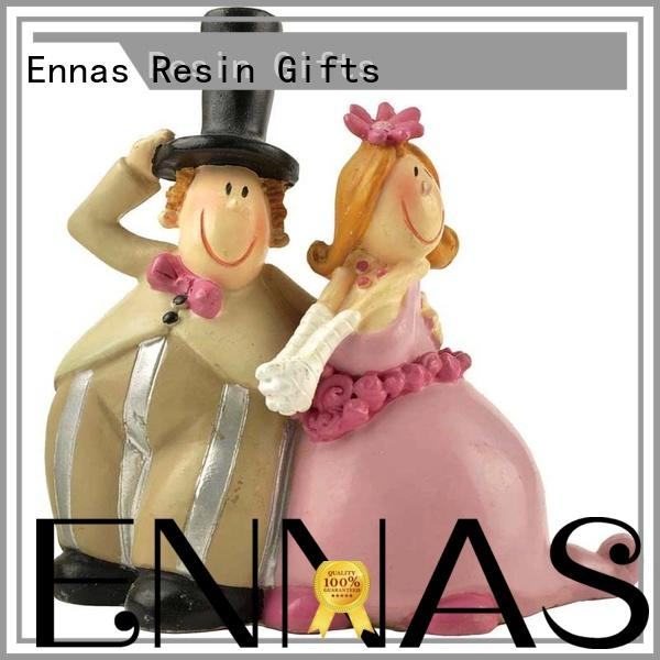 home decor couple figurine hot-sale birthday decor Ennas
