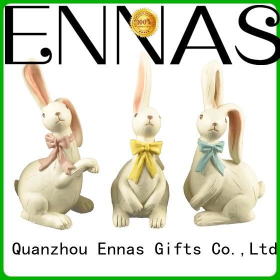 free sample easter rabbit statues oem micro landscape