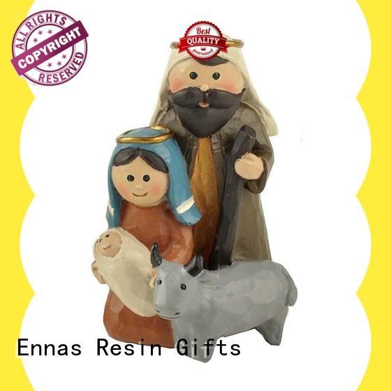 Ennas eco-friendly christian figurines bulk production