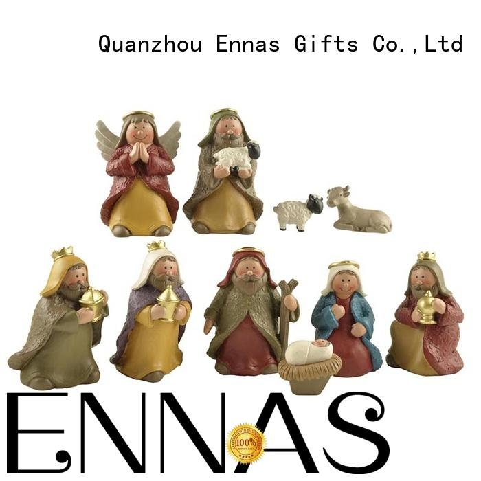 Ennas christian nativity set bulk production family decor