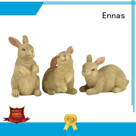 best quality easter rabbit statues oem home decor