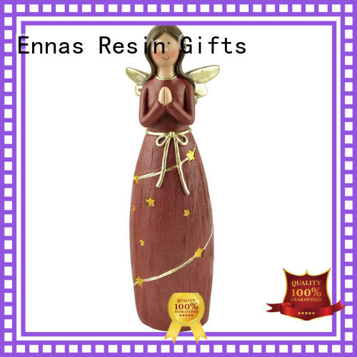 Ennas religious guardian angel statues figurines handmade for ornaments