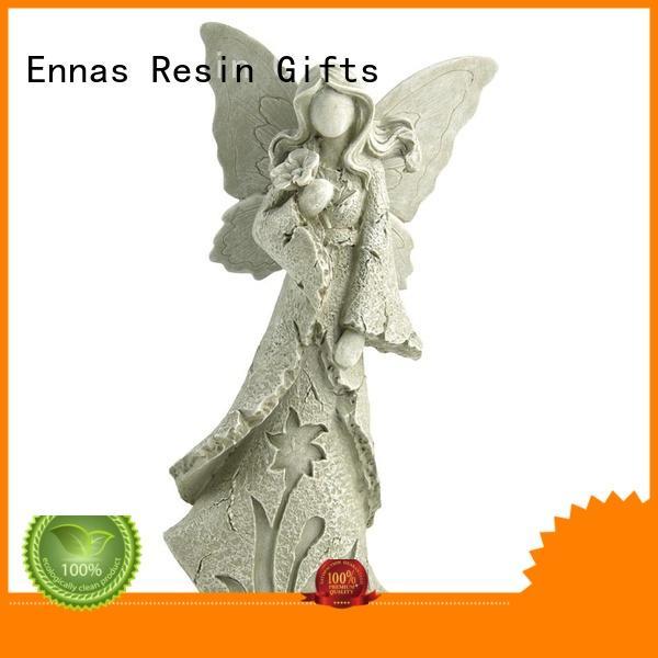 decorative guardian angel figurines collectible antique fashion Ennas