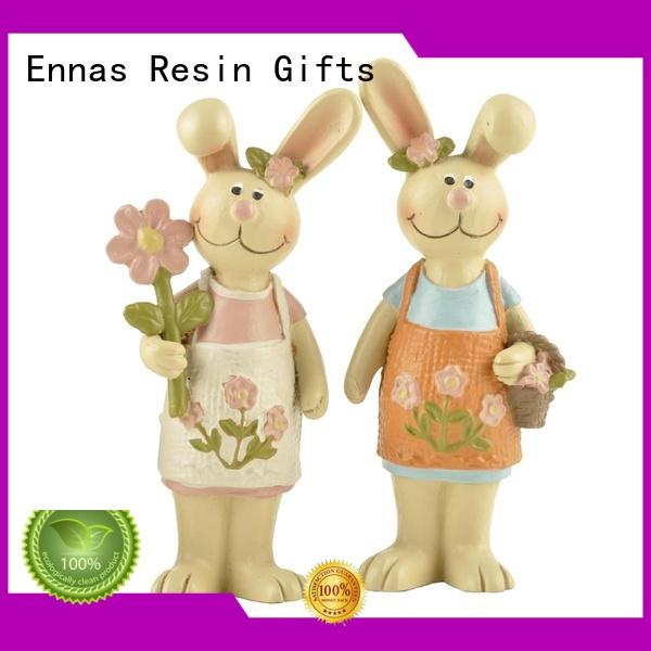 easter figurines handmade crafts micro landscape