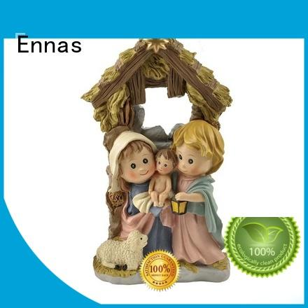 Ennas christian nativity set promotional holy gift