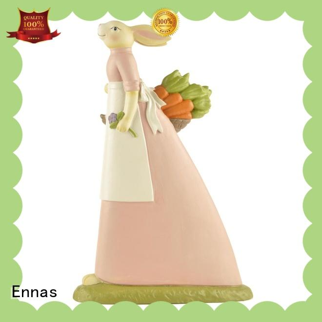 Ennas sculpture model dog figurines high-quality from polyresin