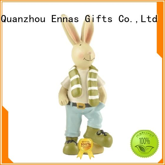 Ennas OEM holiday figurines durable for gift