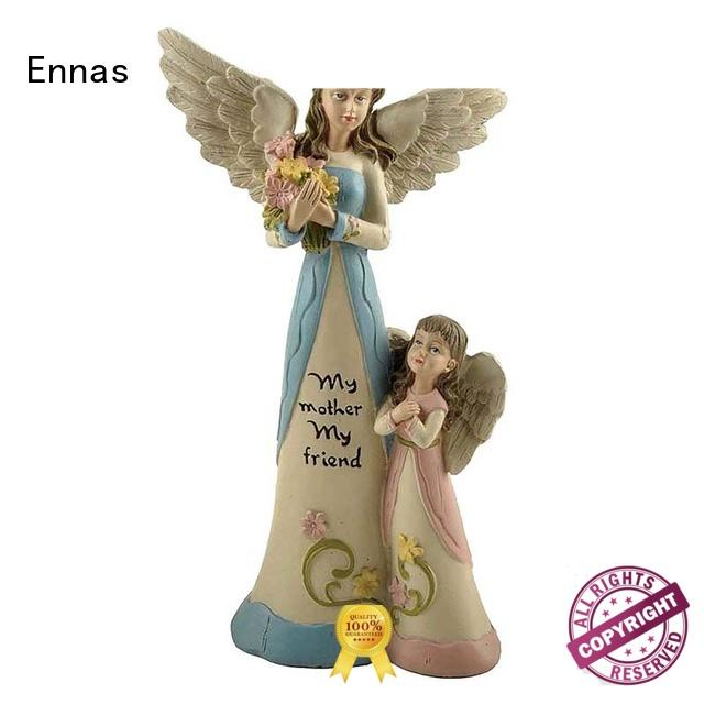 Ennas Christmas angel figurines collectible handmade at discount