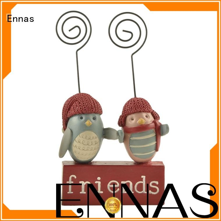 Ennas handmade toy animal figures high-quality resin craft