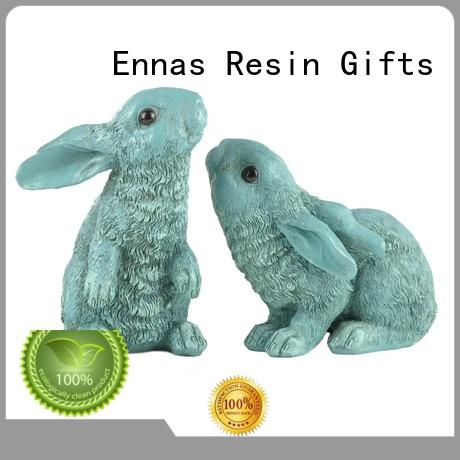 Ennas best quality easter bunny decorations handmade crafts micro landscape