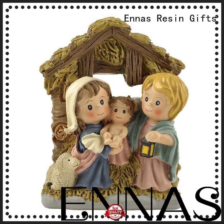 Ennas holding candle catholic crafts popular holy gift