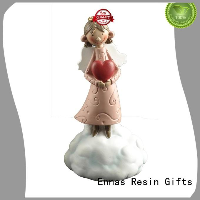 carved little angel figurines top-selling at discount