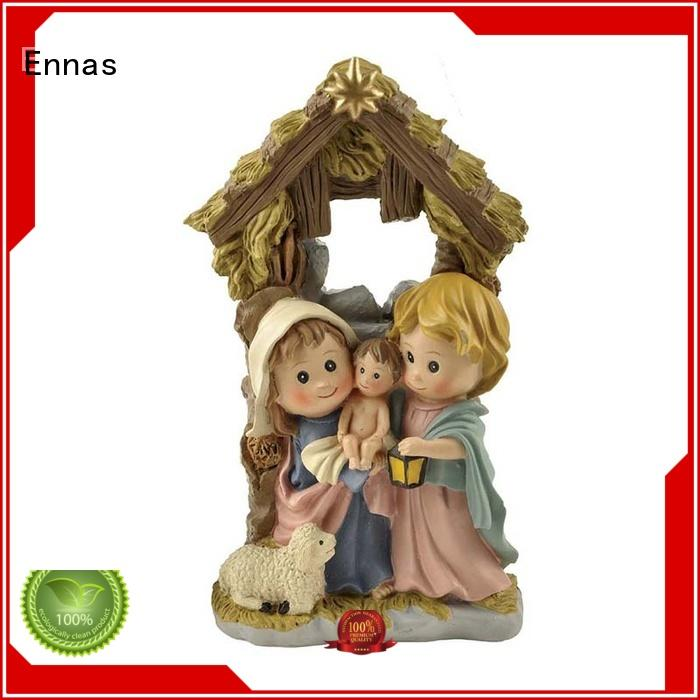 Ennas eco-friendly religious statues hot-sale family decor