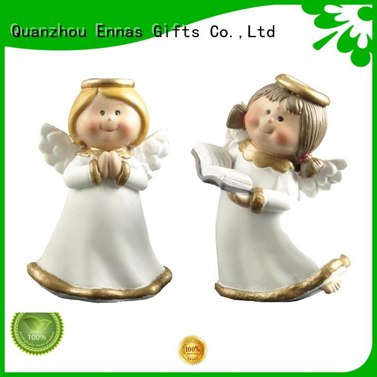 Christmas angel figurines wholesale handicraft for ornaments