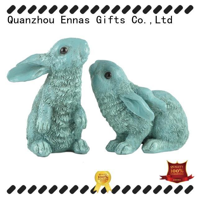 Ennas easter rabbit decor micro landscape