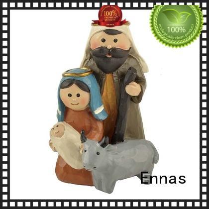 Ennas catholic nativity set wholesale bulk production craft decoration