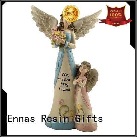 Ennas angel figurine collection colored at discount