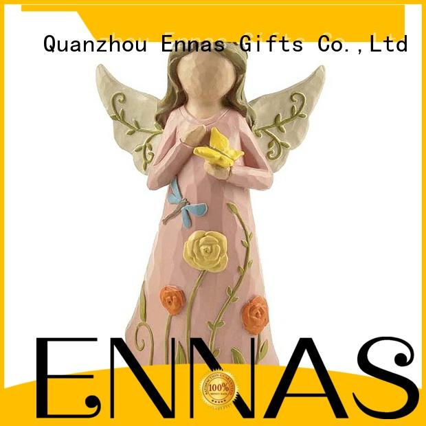 Ennas personalized angel figurine lovely for decoration