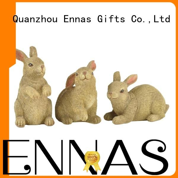 best quality easter rabbit figurines handmade crafts home decor