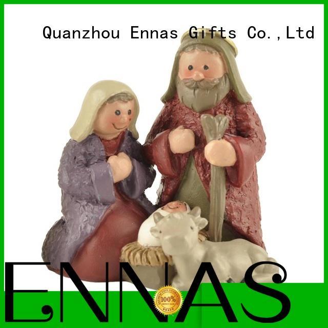 Ennas christian church figurine promotional