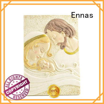 Ennas christmas catholic figurines bulk production family decor