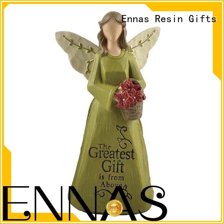 Ennas Christmas angel figurine creationary fashion