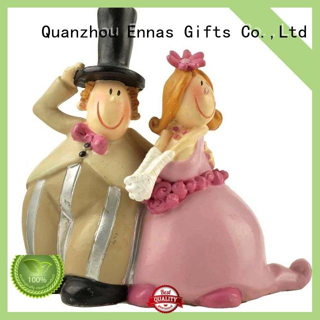 Ennas miniature wedding cake topper figurines hot-sale
