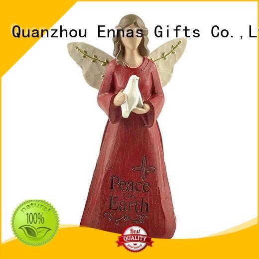 Ennas Christmas angel wings figurines vintage fashion