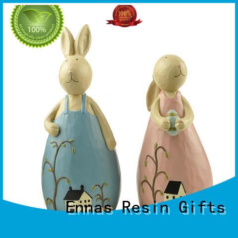 Ennas handmade animal figurine hot-sale resin craft