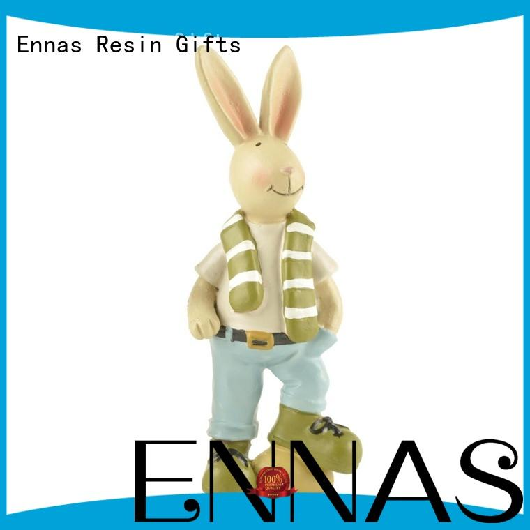 Ennas decorative decorative animal figurines hot-sale from polyresin