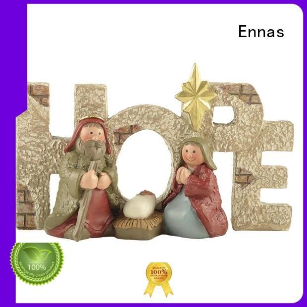 Ennas eco-friendly nativity set popular family decor
