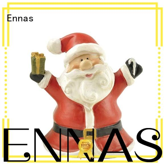 Ennas snowman christmas collectibles polyresin for wholesale