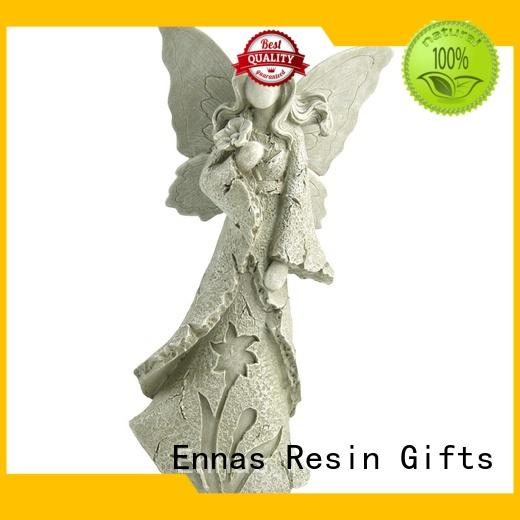 Ennas family decor angel figurines collectible handmade for decoration