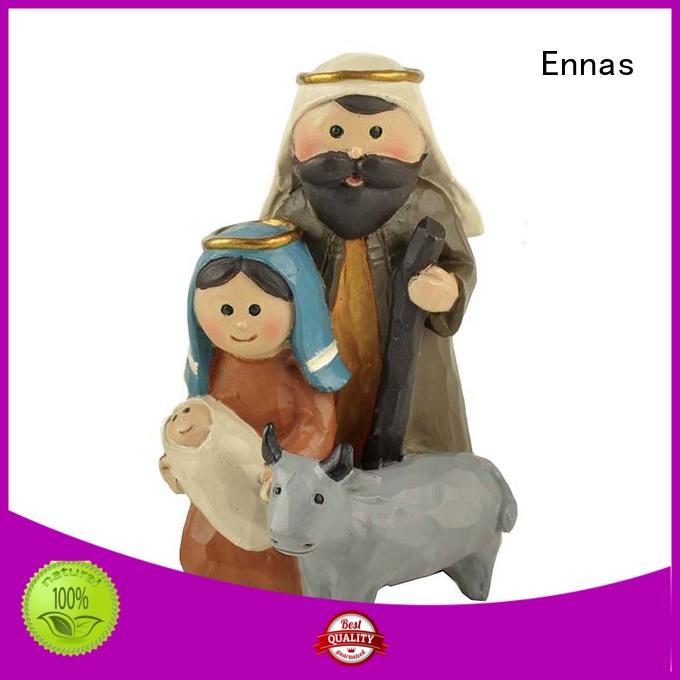 Ennas eco-friendly church figurine bulk production craft decoration