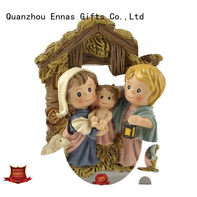 religious figurine catholic family decor Ennas