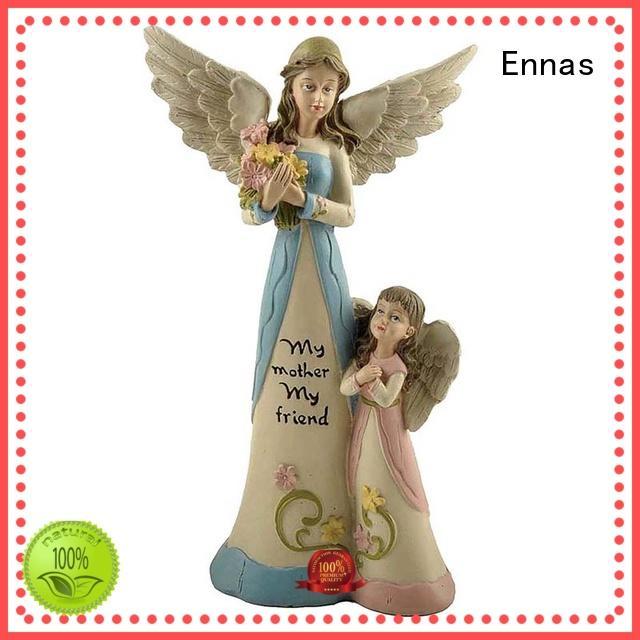 Ennas Christmas angel figurines wholesale popular for decoration