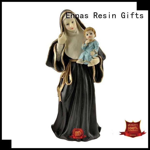 eco-friendly vintage religious figurines bulk production family decor Ennas