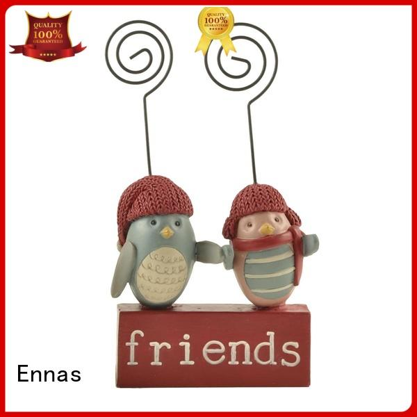 Ennas decorative wild animal figurines animal resin craft