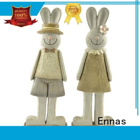 Ennas handmade dog figurines hot-sale resin craft